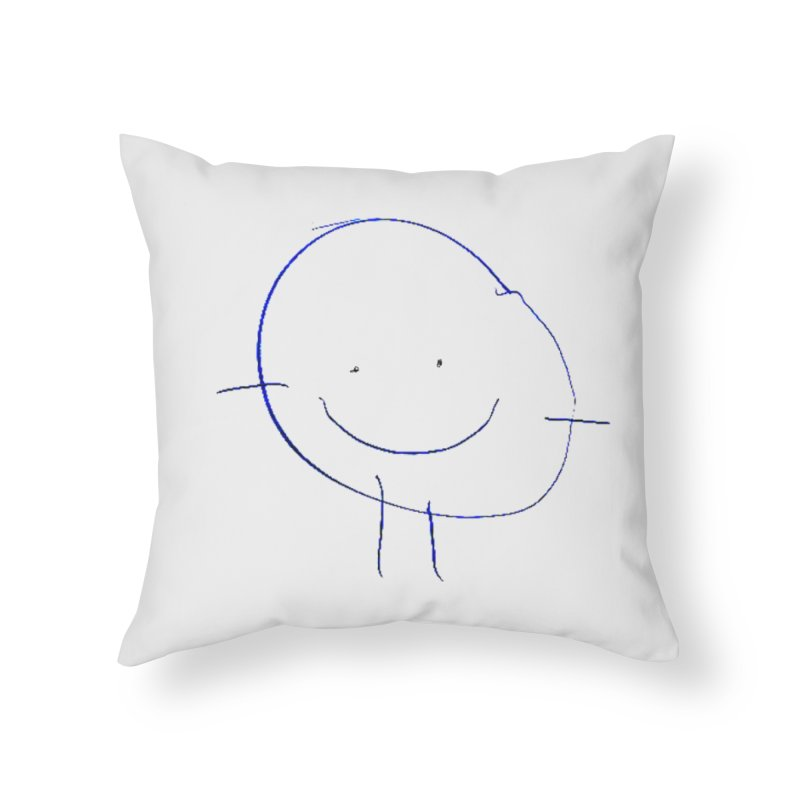 Griffin Face Home Throw Pillow by Turkeylegsray's Artist Shop