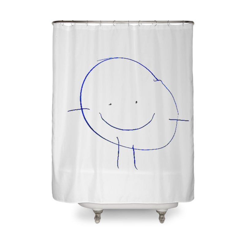 Griffin Face Home Shower Curtain by Turkeylegsray's Artist Shop