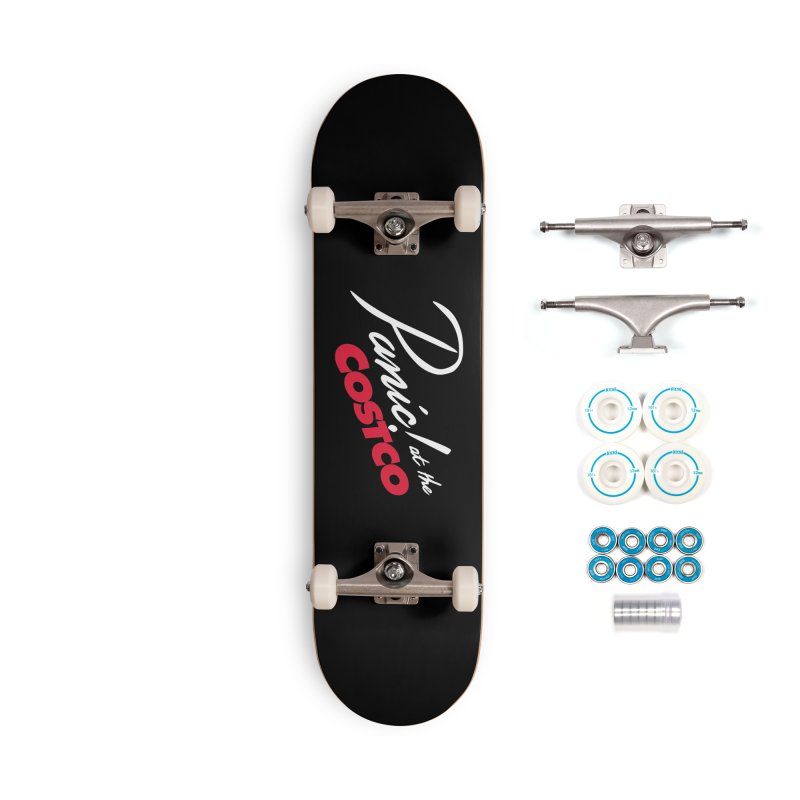 Panic! at the Costco Accessories Complete - Basic Skateboard by Turkeylegsray's Artist Shop