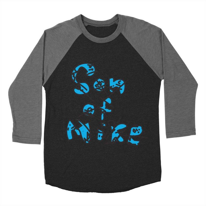 "Son of Mike ""Doodle"" Women's Baseball Triblend Longsleeve T-Shirt by Turkeylegsray's Artist Shop"