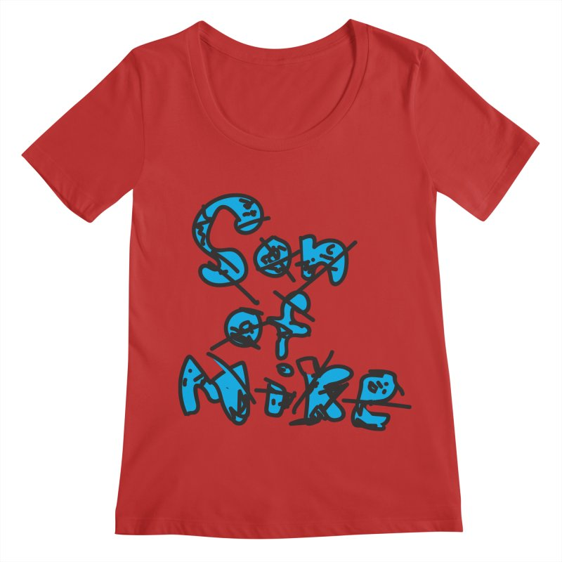 "Son of Mike ""Doodle"" Women's Regular Scoop Neck by Turkeylegsray's Artist Shop"