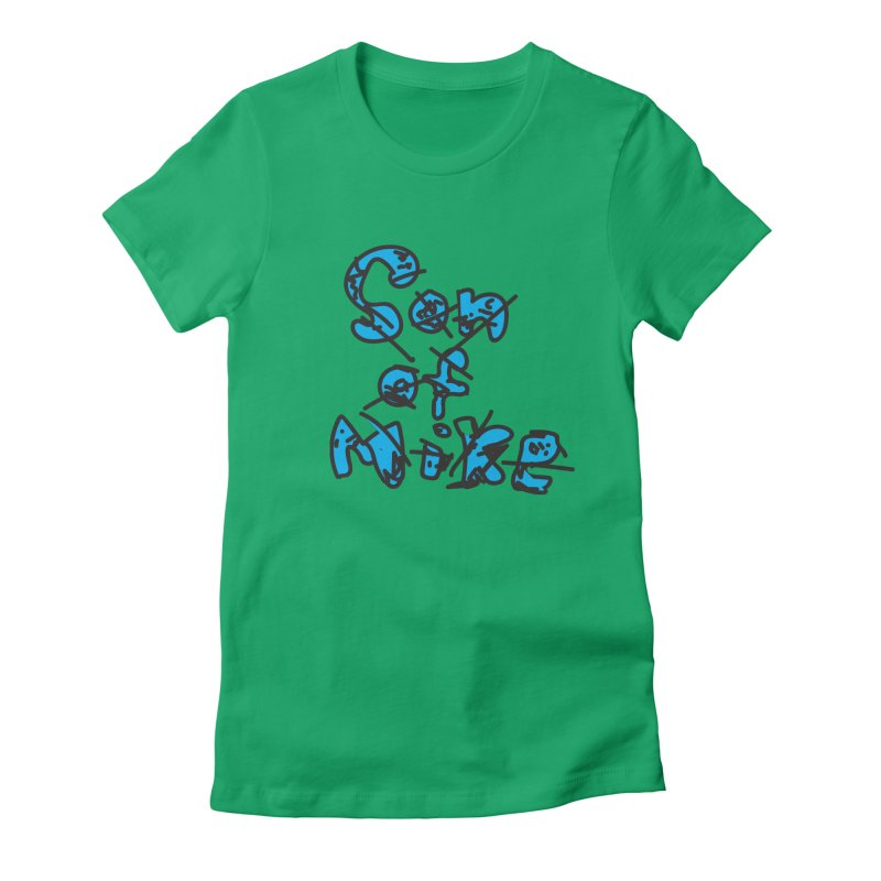 """Son of Mike """"Doodle"""" Women's Fitted T-Shirt by Turkeylegsray's Artist Shop"""