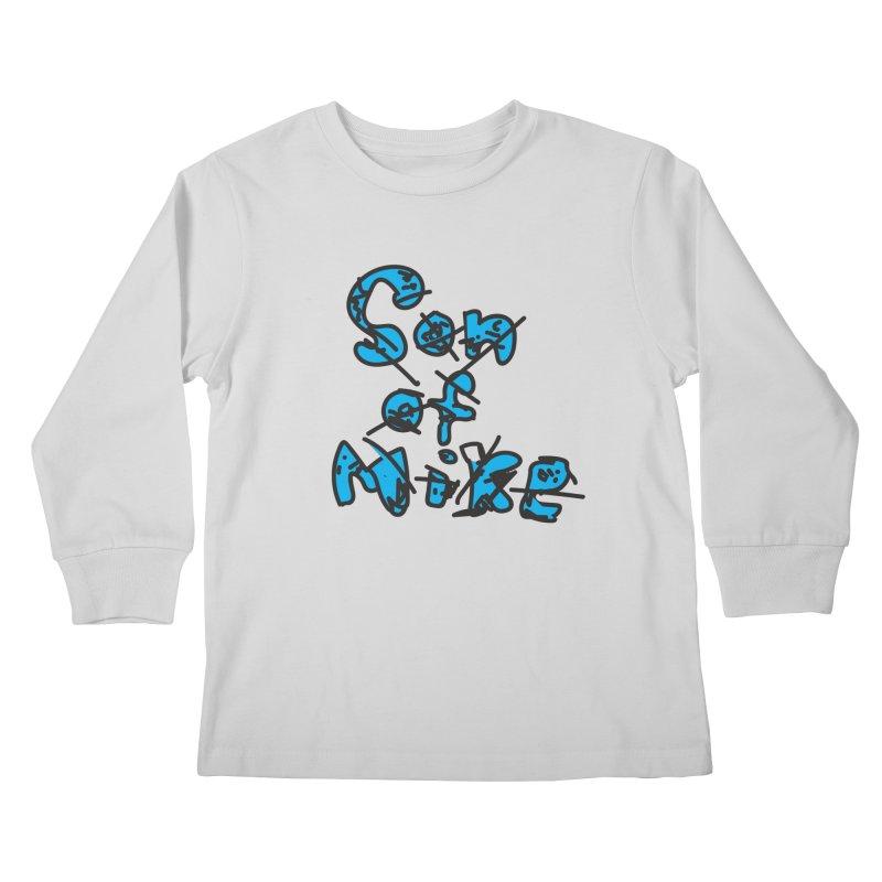 "Son of Mike ""Doodle"" Kids Longsleeve T-Shirt by Turkeylegsray's Artist Shop"