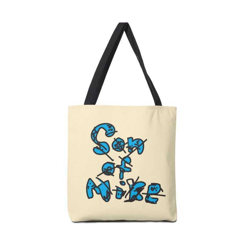 "Son of Mike ""Doodle"" Accessories Tote Bag Bag by Turkeylegsray's Artist Shop"
