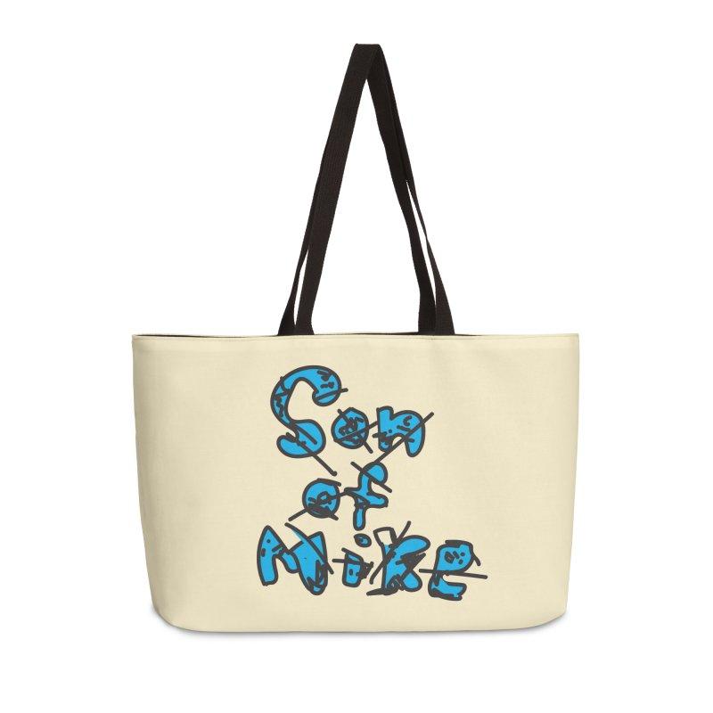 """Son of Mike """"Doodle"""" Accessories Weekender Bag Bag by Turkeylegsray's Artist Shop"""