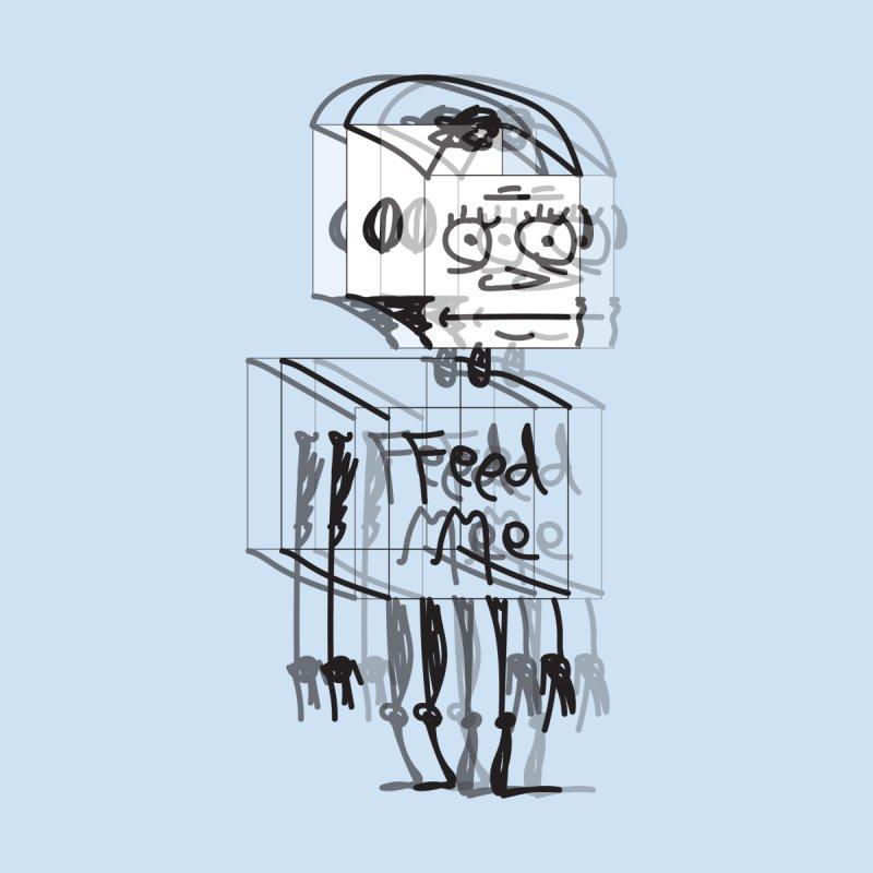 Doodle Bot Kids Baby Bodysuit by Turkeylegsray's Artist Shop