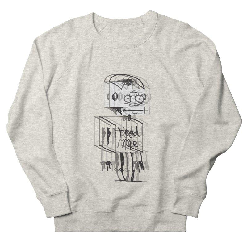 Doodle Bot Men's French Terry Sweatshirt by Turkeylegsray's Artist Shop