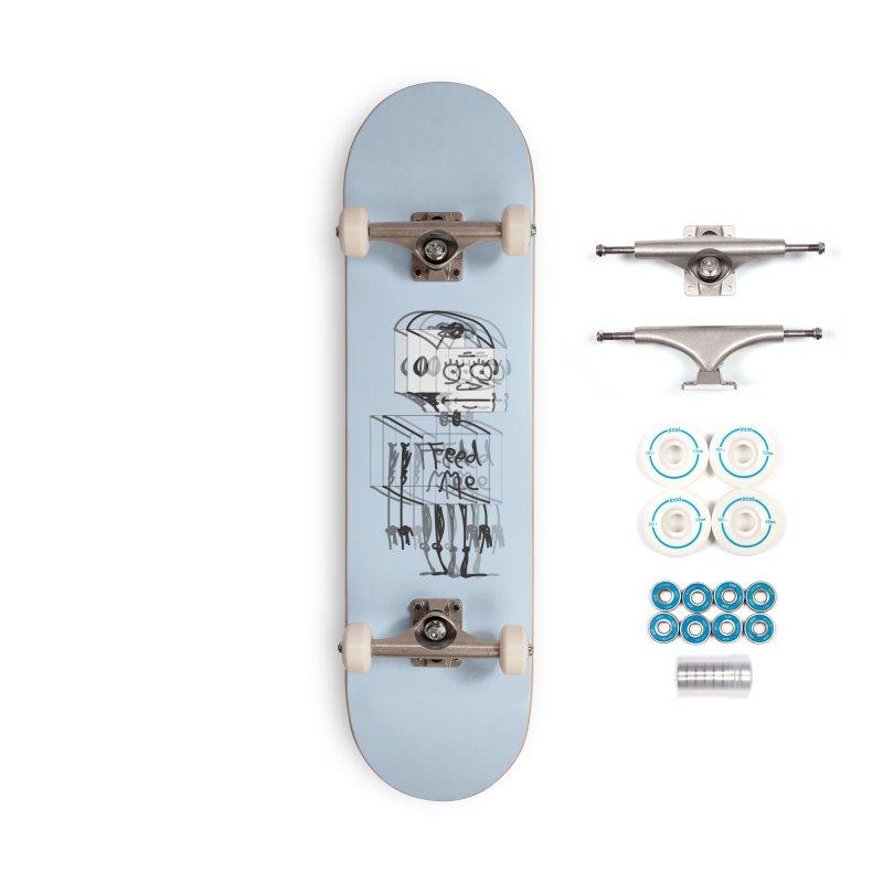 Doodle Bot Accessories Complete - Basic Skateboard by Turkeylegsray's Artist Shop