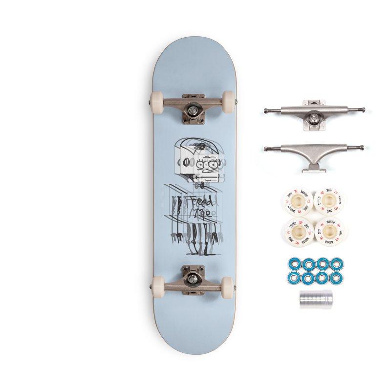 Doodle Bot Accessories Complete - Premium Skateboard by Turkeylegsray's Artist Shop
