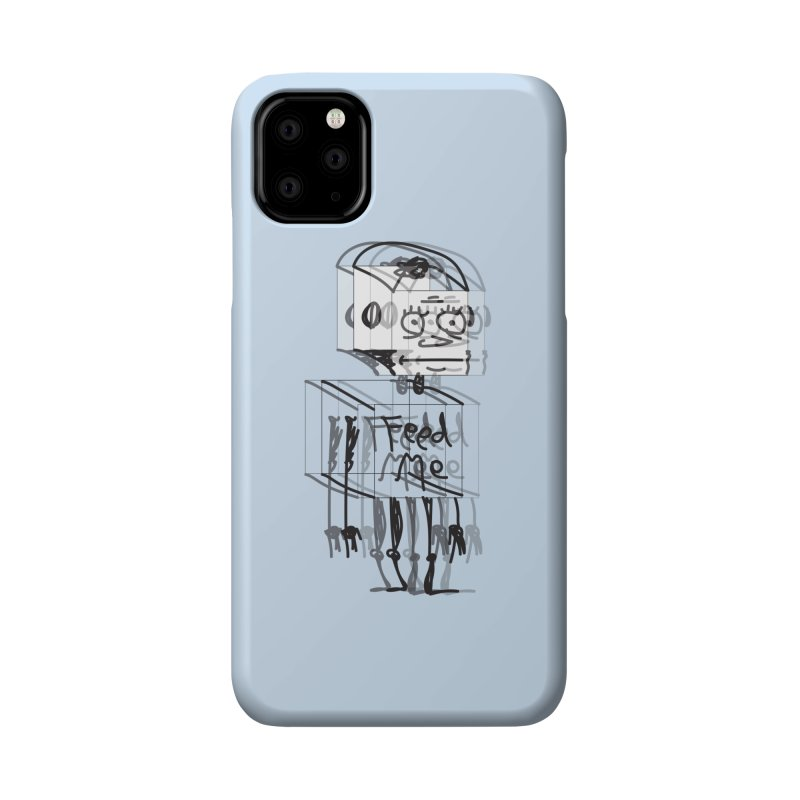 Doodle Bot Accessories Phone Case by Turkeylegsray's Artist Shop