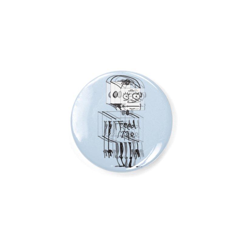 Doodle Bot Accessories Button by Turkeylegsray's Artist Shop