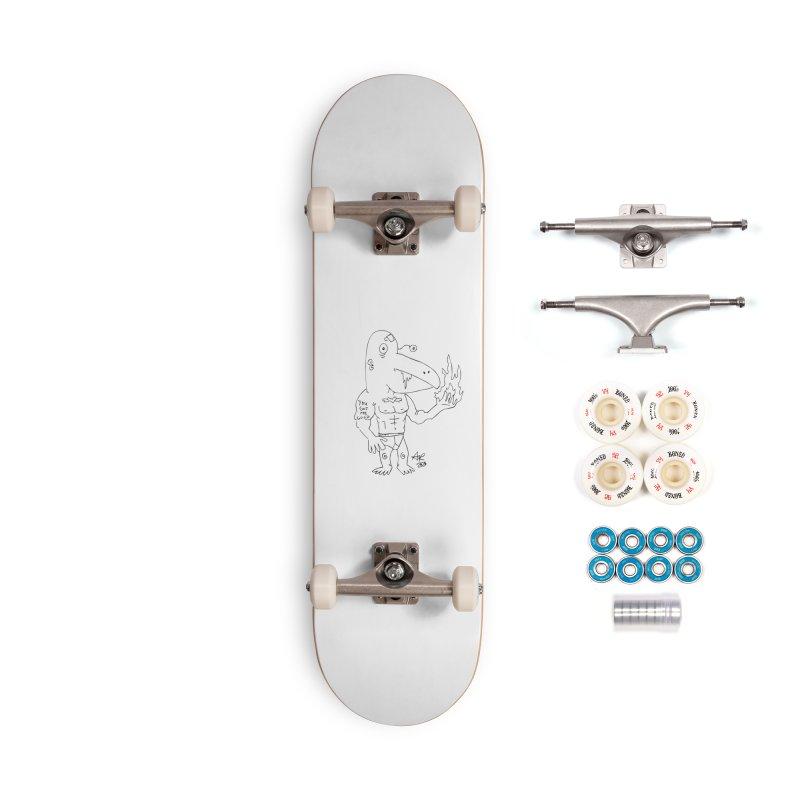 Angry Bird Accessories Complete - Premium Skateboard by Turkeylegsray's Artist Shop