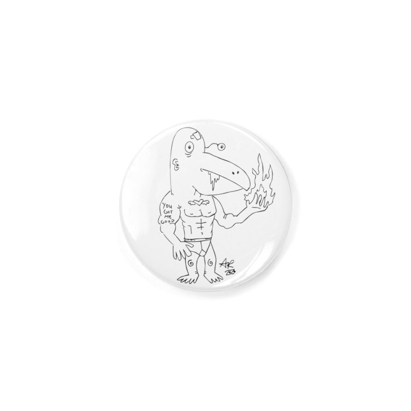 Angry Bird Accessories Button by Turkeylegsray's Artist Shop