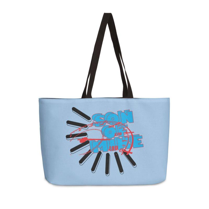 """Son of Mike """"Speed"""" Accessories Weekender Bag Bag by Turkeylegsray's Artist Shop"""