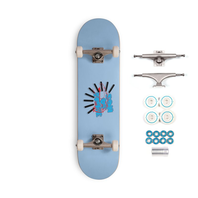 """Son of Mike """"Speed"""" Accessories Complete - Basic Skateboard by Turkeylegsray's Artist Shop"""