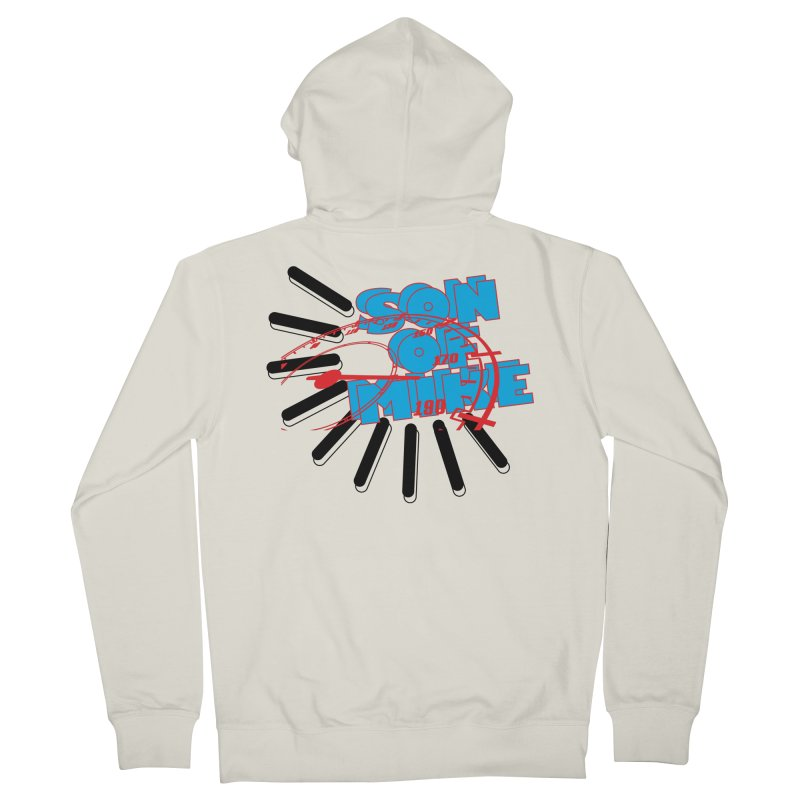 "Son of Mike ""Speed"" Women's French Terry Zip-Up Hoody by Turkeylegsray's Artist Shop"