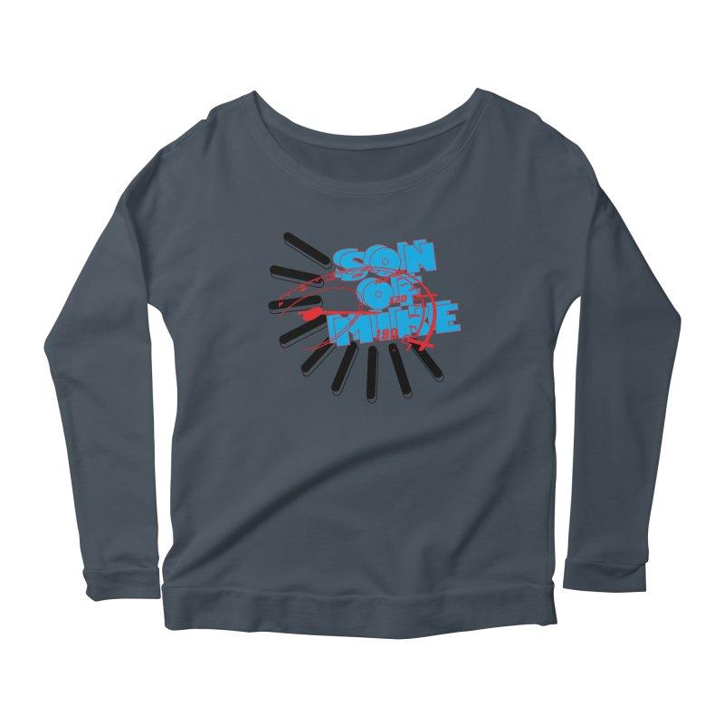 """Son of Mike """"Speed"""" Women's Scoop Neck Longsleeve T-Shirt by Turkeylegsray's Artist Shop"""