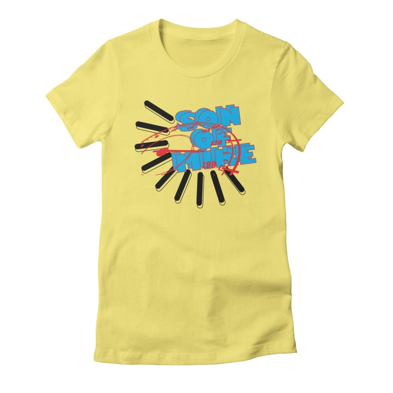 "Son of Mike ""Speed"" Women's Fitted T-Shirt by Turkeylegsray's Artist Shop"