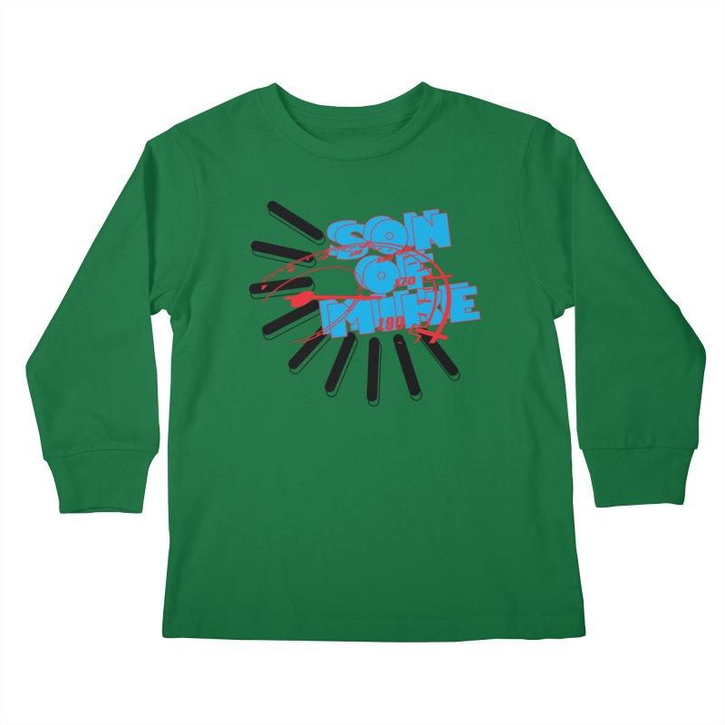 """Son of Mike """"Speed"""" Kids Longsleeve T-Shirt by Turkeylegsray's Artist Shop"""