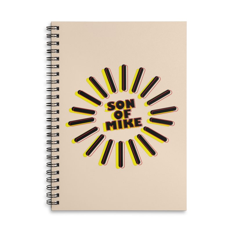 """Son of Mike """"Sun"""" Accessories Lined Spiral Notebook by Turkeylegsray's Artist Shop"""