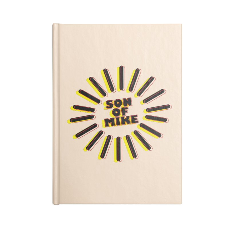"Son of Mike ""Sun"" Accessories Lined Journal Notebook by Turkeylegsray's Artist Shop"