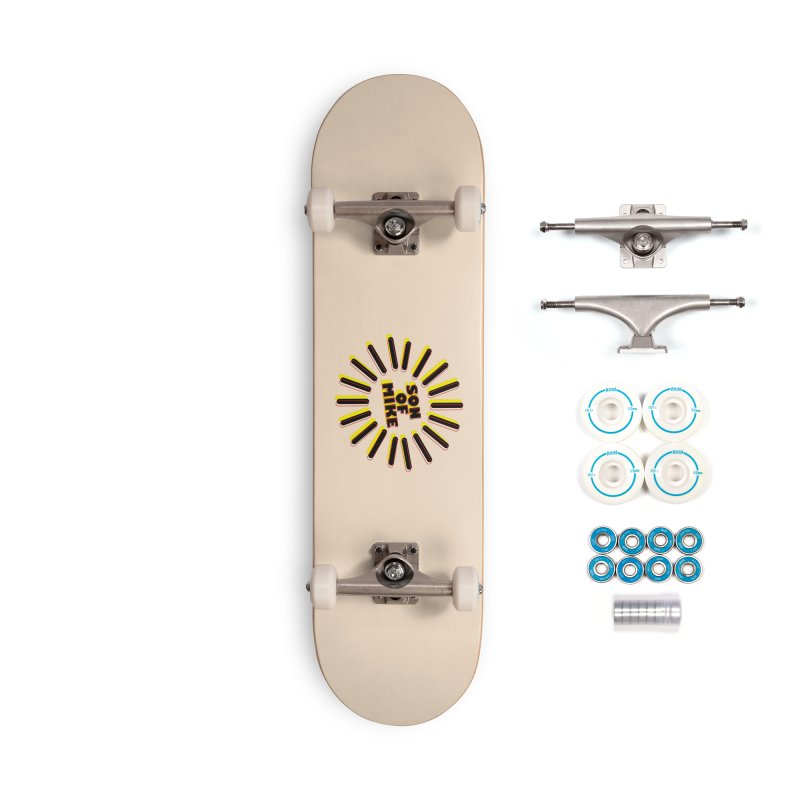"""Son of Mike """"Sun"""" Accessories Complete - Basic Skateboard by Turkeylegsray's Artist Shop"""