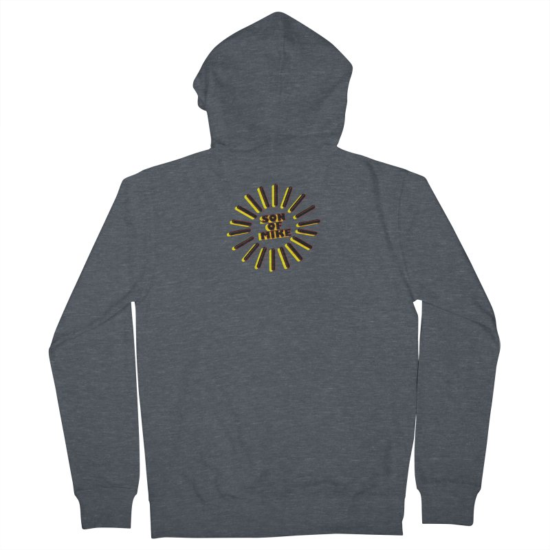"Son of Mike ""Sun"" Women's French Terry Zip-Up Hoody by Turkeylegsray's Artist Shop"