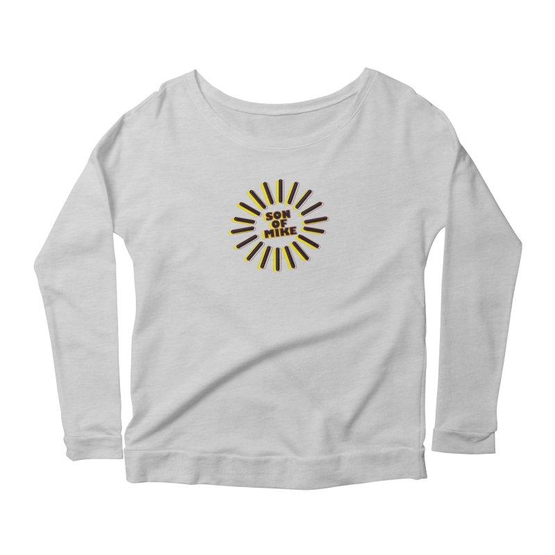 """Son of Mike """"Sun"""" Women's Scoop Neck Longsleeve T-Shirt by Turkeylegsray's Artist Shop"""