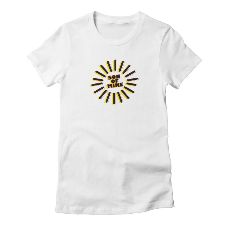 "Son of Mike ""Sun"" Women's Fitted T-Shirt by Turkeylegsray's Artist Shop"