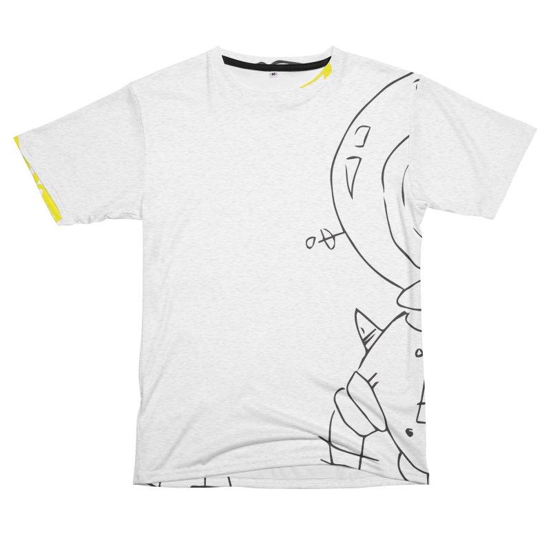 Dreamy Men's French Terry T-Shirt Cut & Sew by Turkeylegsray's Artist Shop