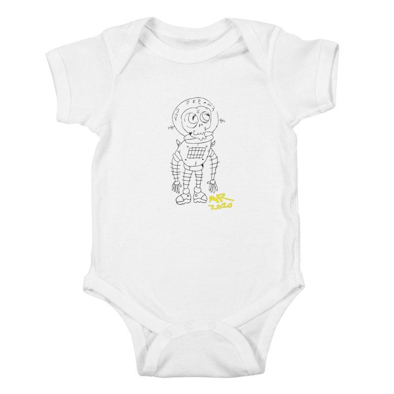 Dreamy Kids Baby Bodysuit by Turkeylegsray's Artist Shop