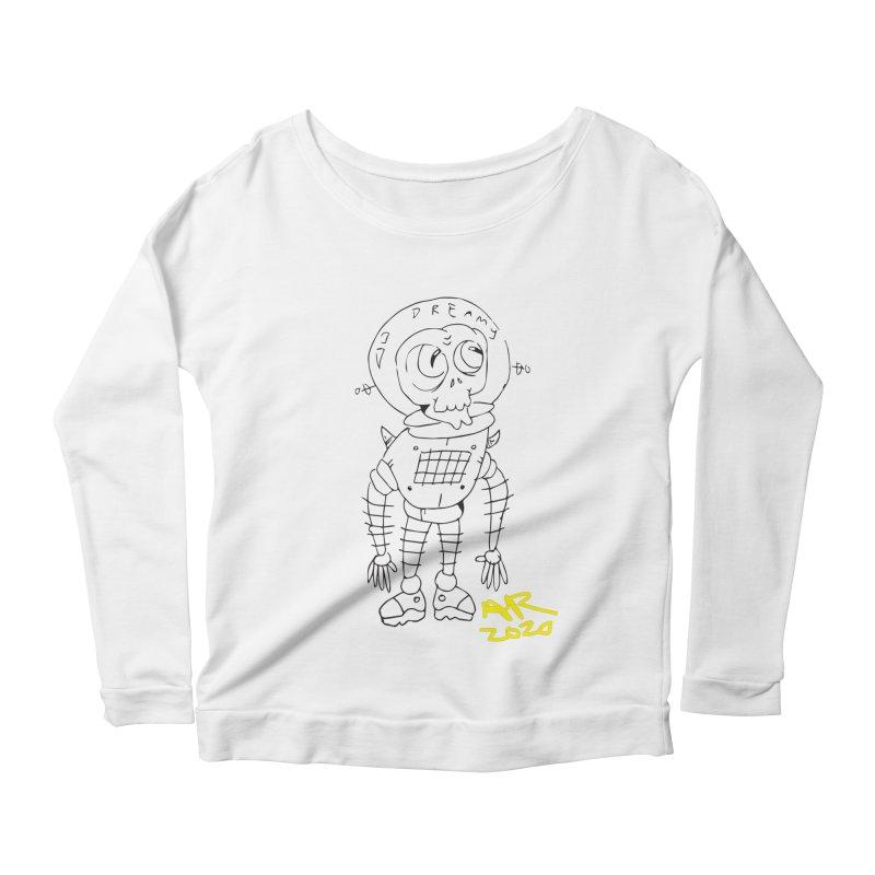 Dreamy Women's Scoop Neck Longsleeve T-Shirt by Turkeylegsray's Artist Shop