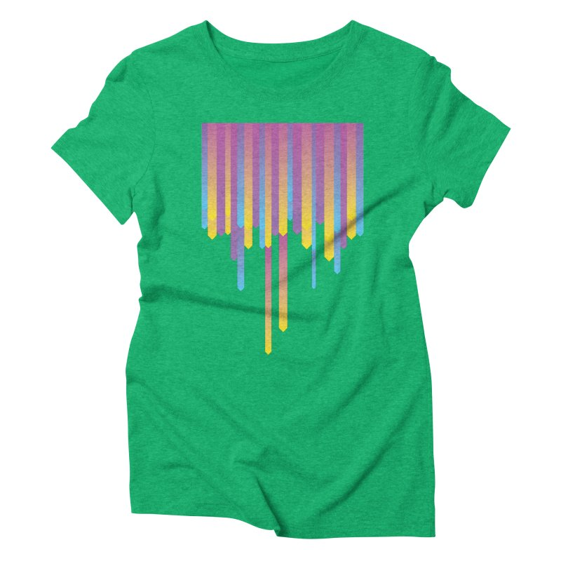 Arrowsss Women's Triblend T-Shirt by Turkeylegsray's Artist Shop