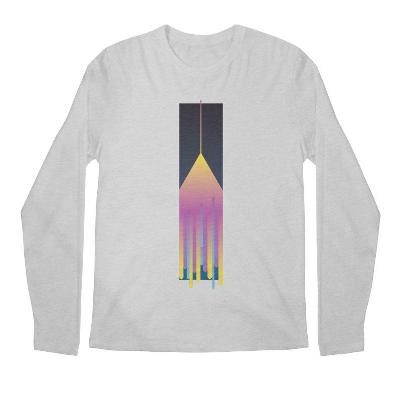 Faded Arrow Men's Regular Longsleeve T-Shirt by Turkeylegsray's Artist Shop