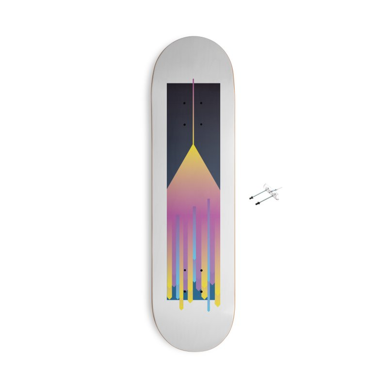 Faded Arrow Accessories With Hanging Hardware Skateboard by Turkeylegsray's Artist Shop
