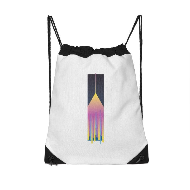 Faded Arrow Accessories Drawstring Bag Bag by Turkeylegsray's Artist Shop