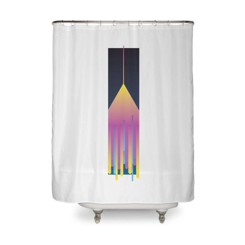 Faded Arrow Home Shower Curtain by Turkeylegsray's Artist Shop