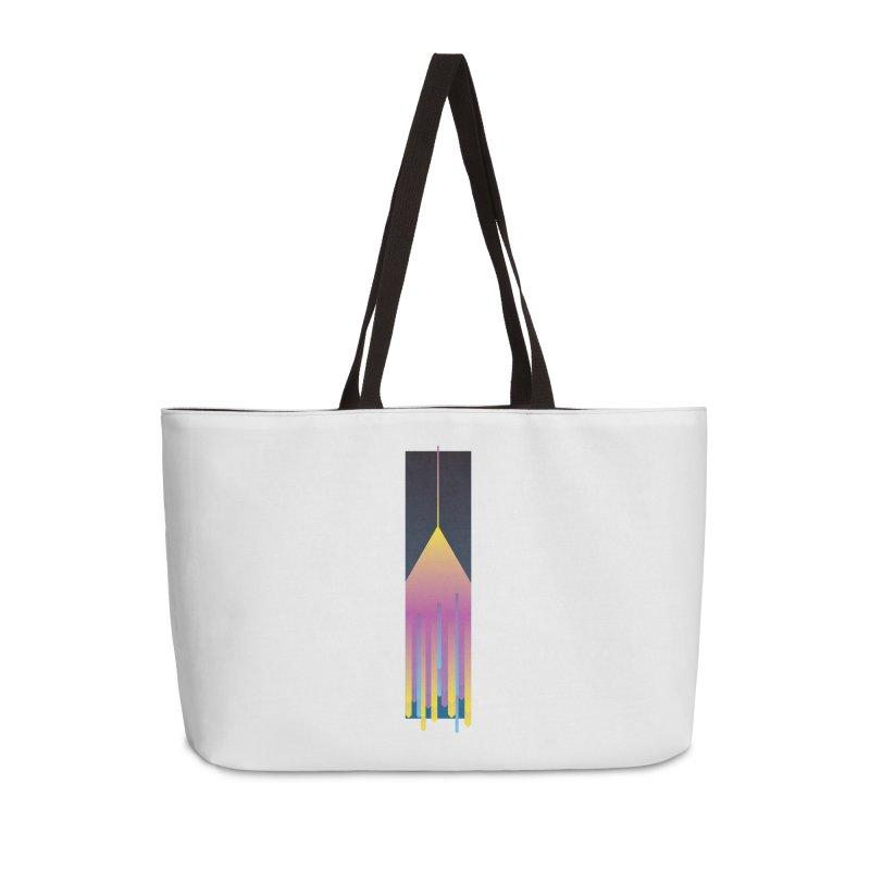 Faded Arrow Accessories Weekender Bag Bag by Turkeylegsray's Artist Shop