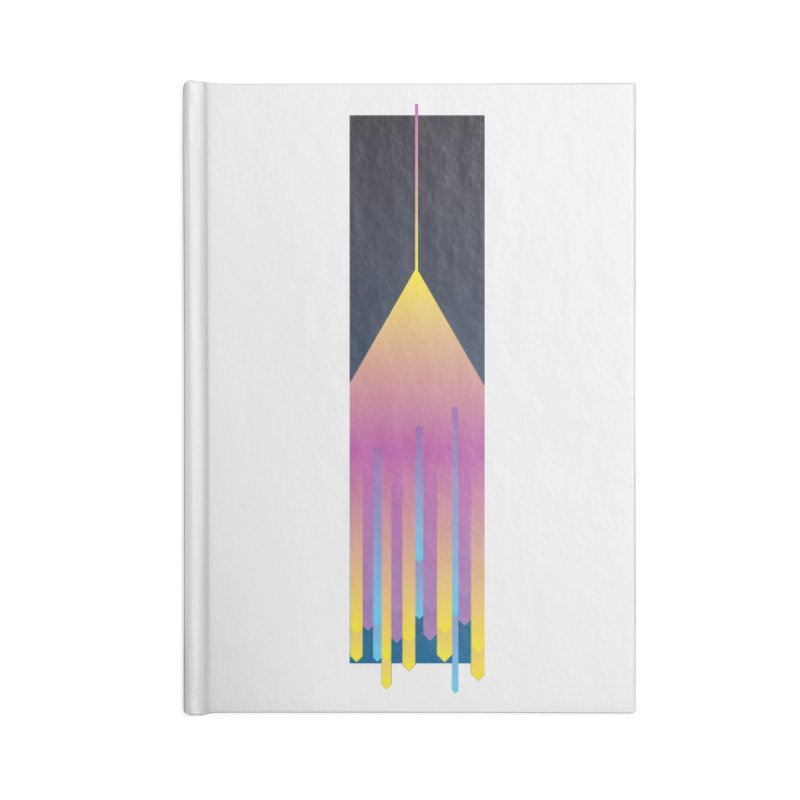 Faded Arrow Accessories Lined Journal Notebook by Turkeylegsray's Artist Shop