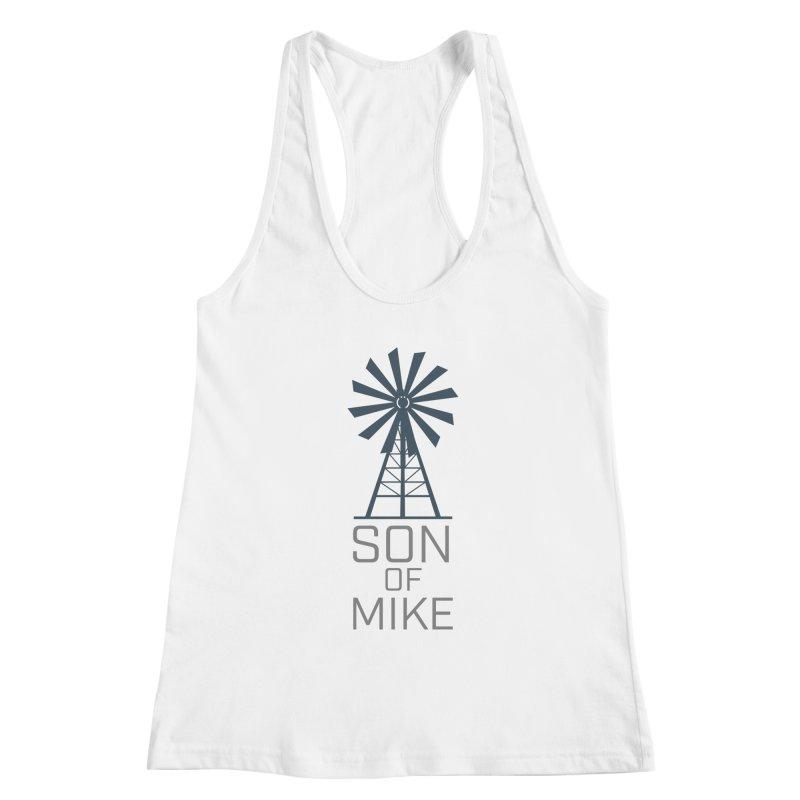 """Son of Mike """"Windmill"""" Women's Racerback Tank by Turkeylegsray's Artist Shop"""