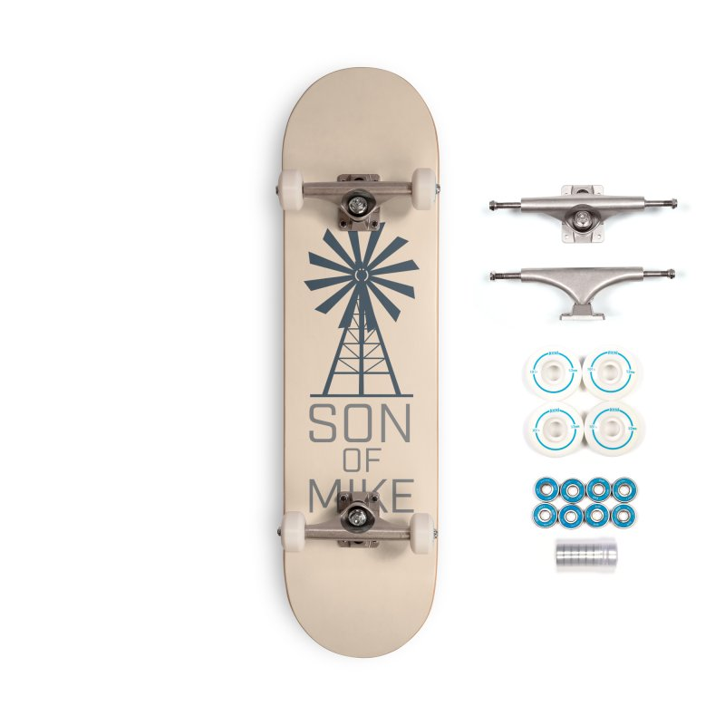 """Son of Mike """"Windmill"""" Accessories Complete - Basic Skateboard by Turkeylegsray's Artist Shop"""