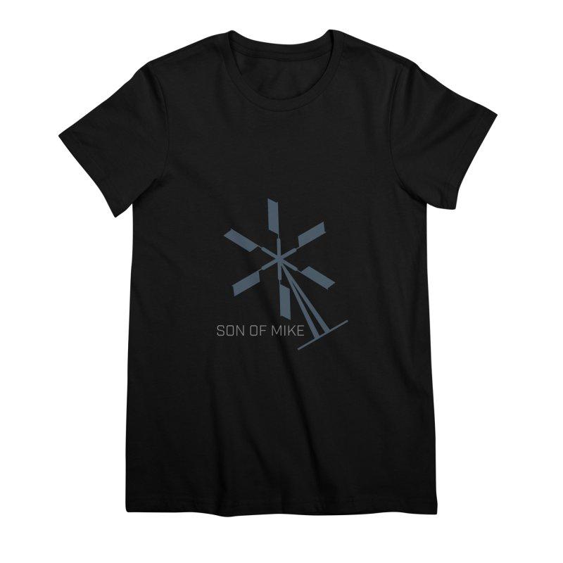 "Son of Mike ""Windmill II"" Women's Premium T-Shirt by Turkeylegsray's Artist Shop"