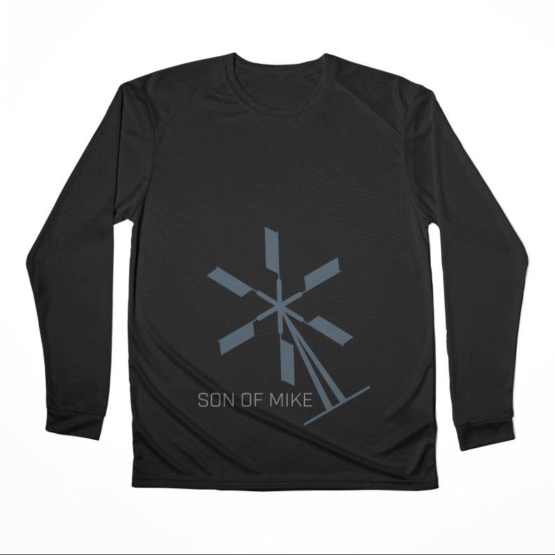 """Son of Mike """"Windmill II"""" Women's Performance Unisex Longsleeve T-Shirt by Turkeylegsray's Artist Shop"""