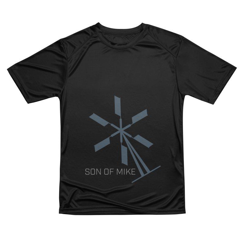 "Son of Mike ""Windmill II"" Women's Performance Unisex T-Shirt by Turkeylegsray's Artist Shop"