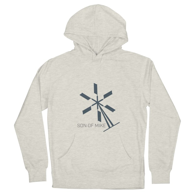 """Son of Mike """"Windmill II"""" Women's French Terry Pullover Hoody by Turkeylegsray's Artist Shop"""