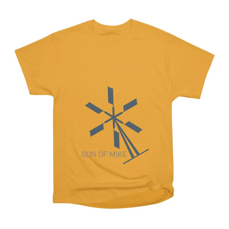 "Son of Mike ""Windmill II"" Women's Heavyweight Unisex T-Shirt by Turkeylegsray's Artist Shop"