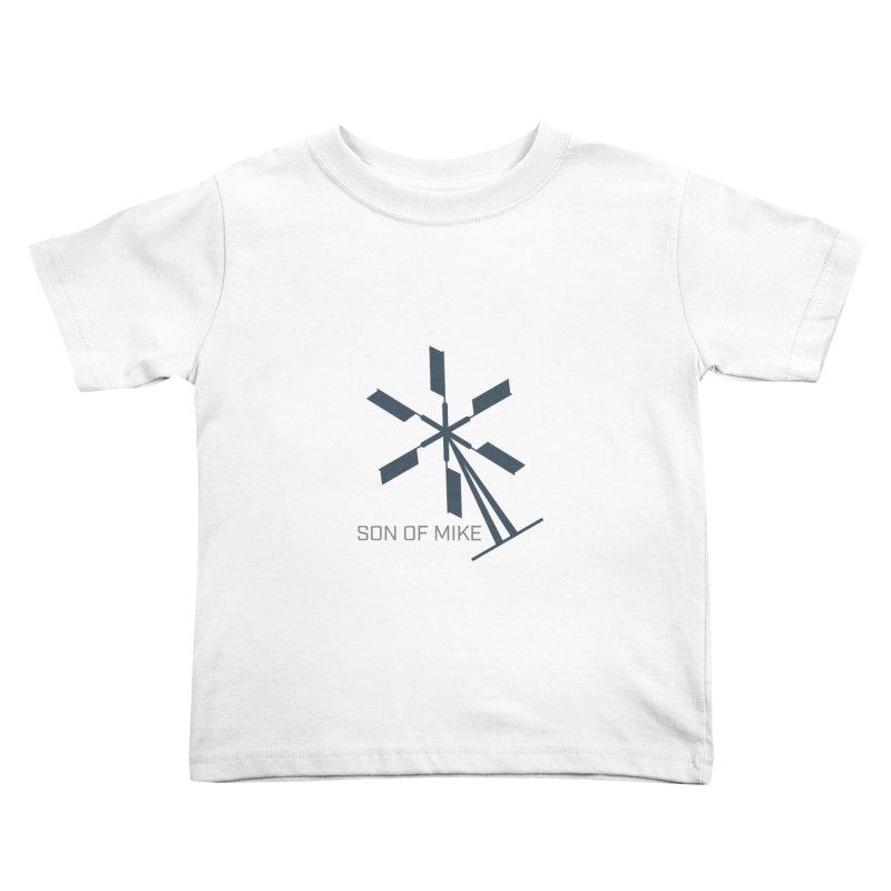 "Son of Mike ""Windmill II"" Kids Toddler T-Shirt by Turkeylegsray's Artist Shop"