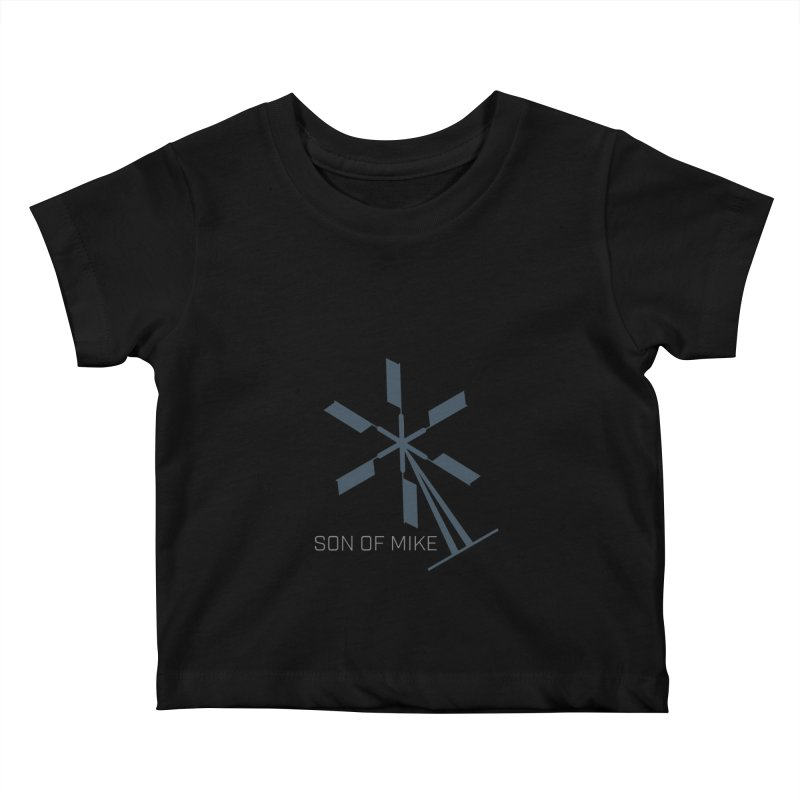 "Son of Mike ""Windmill II"" Kids Baby T-Shirt by Turkeylegsray's Artist Shop"