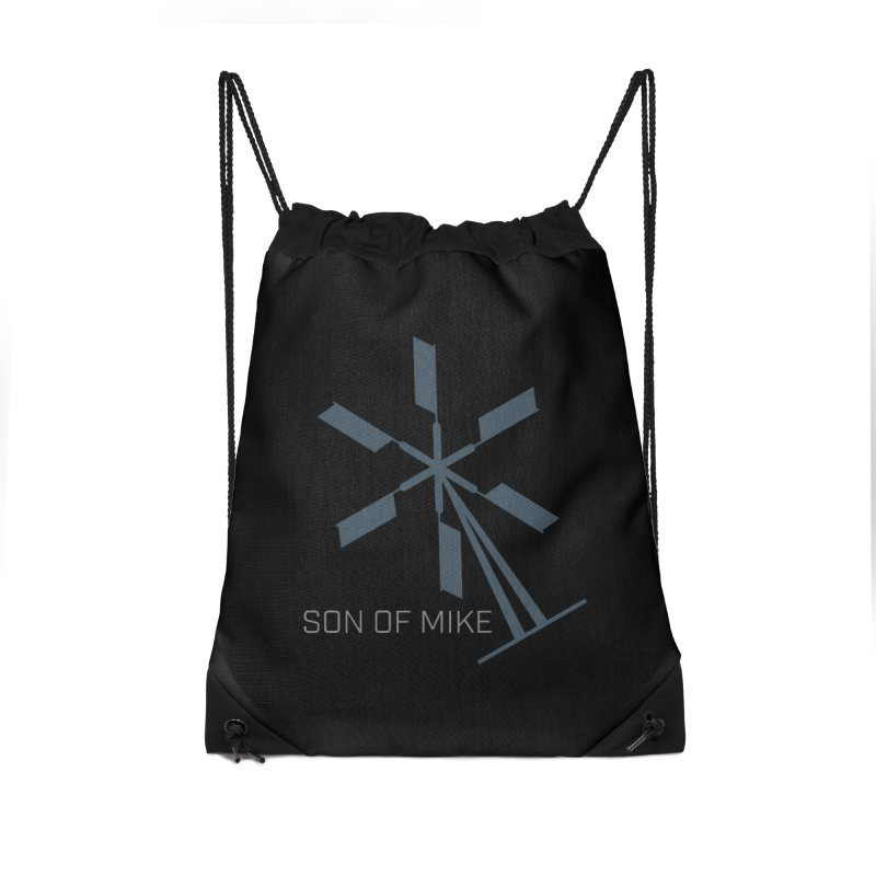 "Son of Mike ""Windmill II"" Accessories Drawstring Bag Bag by Turkeylegsray's Artist Shop"