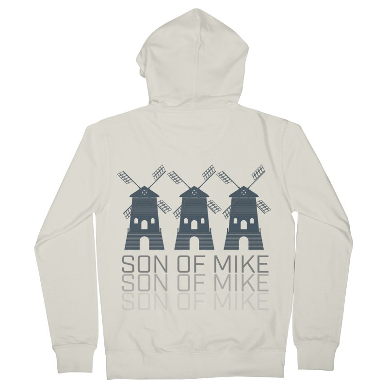 "Son of Mike ""Windmill III"" Men's French Terry Zip-Up Hoody by Turkeylegsray's Artist Shop"